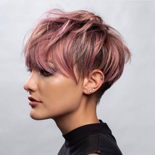 Cool Short Hair Color Ideas You Will Like 1