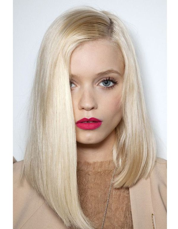 Cool long bob straight hair 1