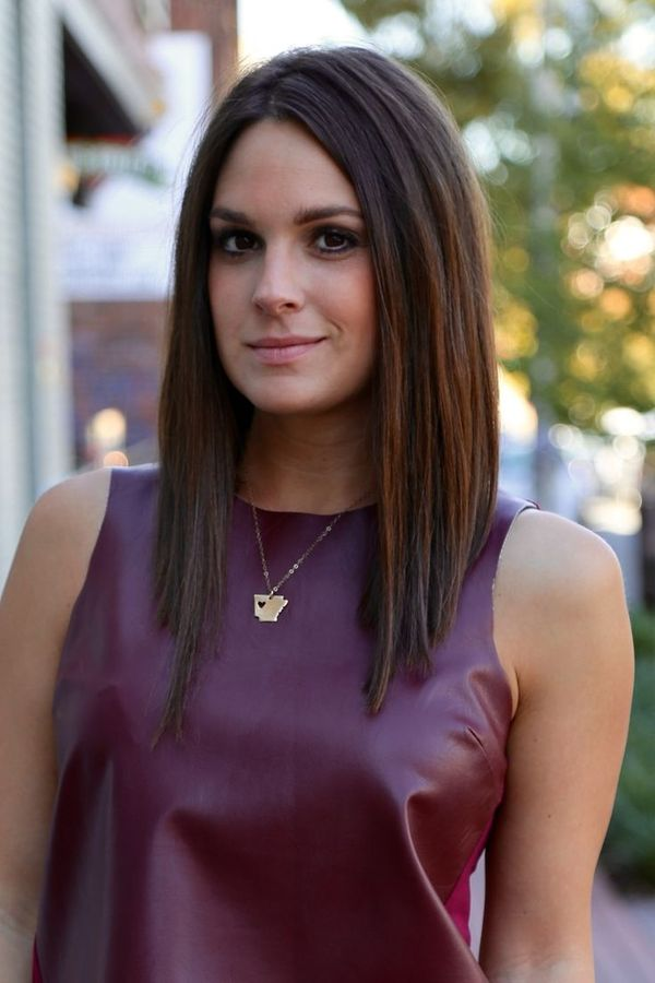 Cool long bob straight hair 3