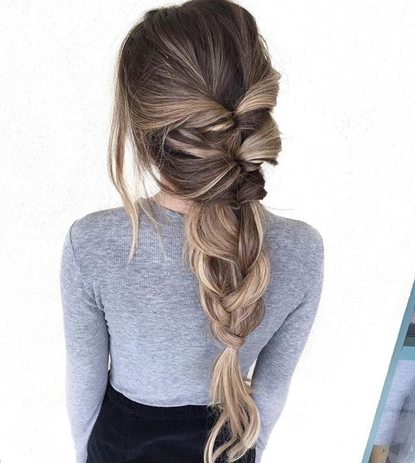 Cute braided updos for long hair 1