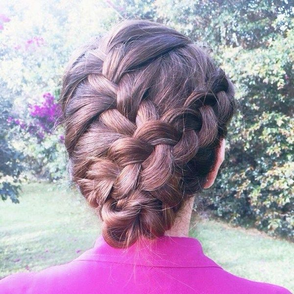 Cute braided updos for long hair 3