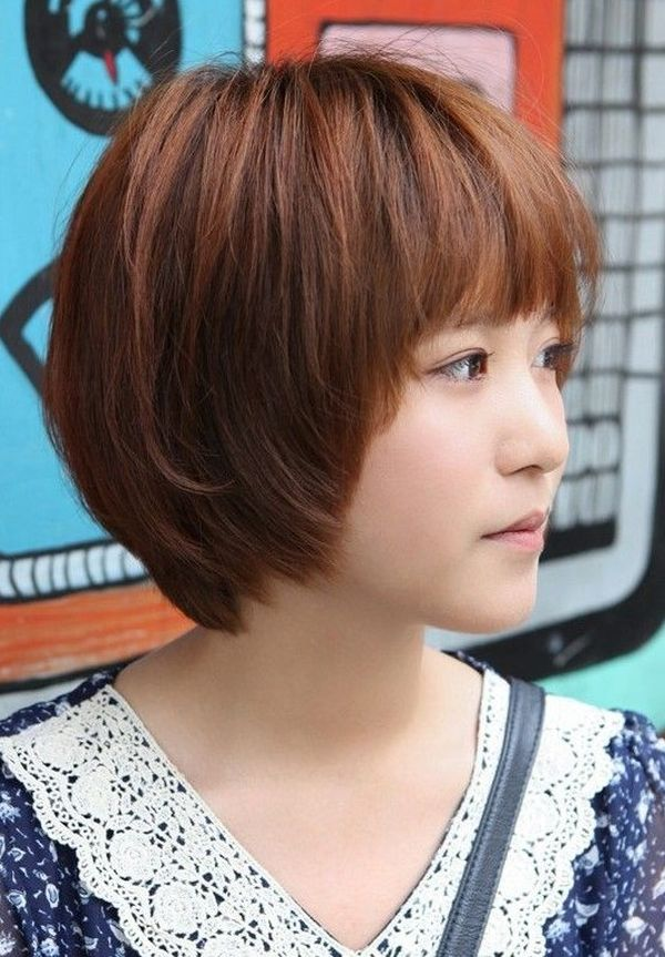 Cute female short hairstyles for straight hair 2