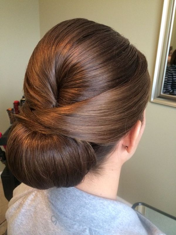 Cute sleek prom hairstyles for long hair 1