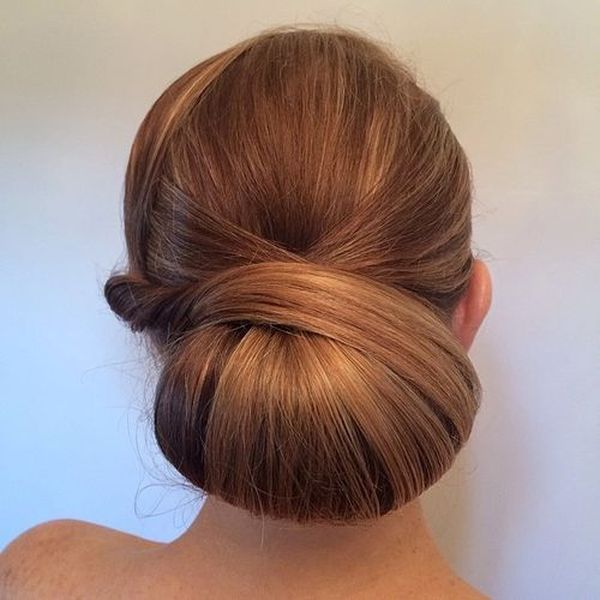 Cute sleek prom hairstyles for long hair 2