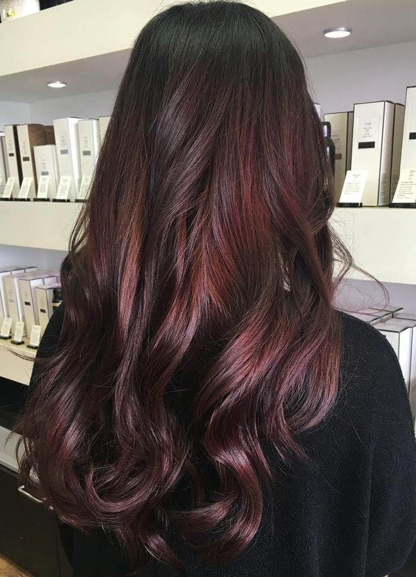 Dark Burgundy Hair Color 2