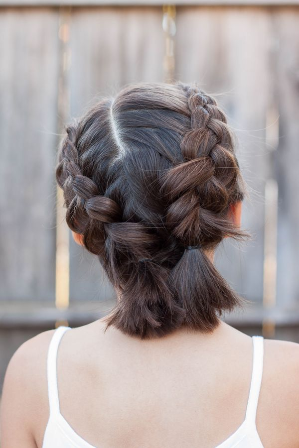 Easy To Style Casual Updos For Mid Length Hair 1