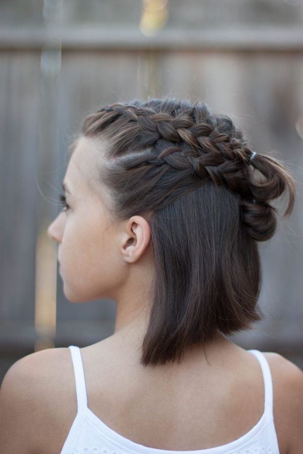 Easy To Style Casual Updos For Mid Length Hair 2