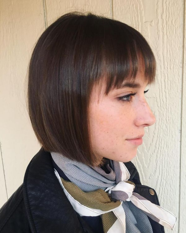 Feminine hairstyles for short straight hair 2