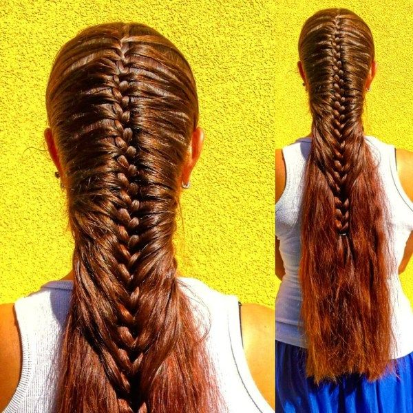 French braid ideas for really long hair 2