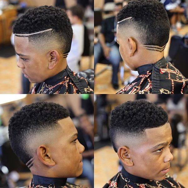 Great ideas of male haircut with line up 1