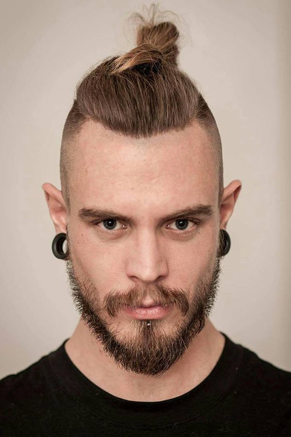 How to Do a Top Knot Ideas for Men 1