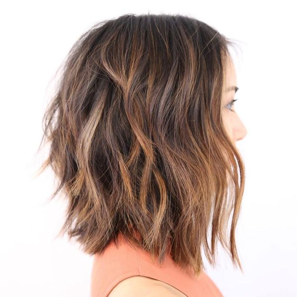 70 Long Layered Bob Hairstyle Ideas (October 2019)