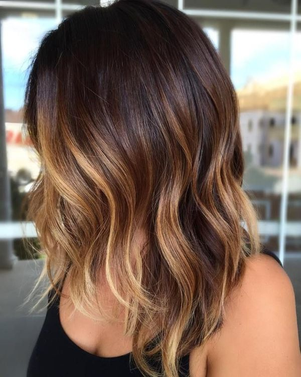 Inspiring Brunette Balayage Hair Color Ideas 3