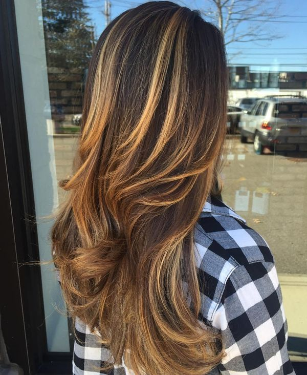 Brown Hair with Highlights: Looks and Ideas Trending in