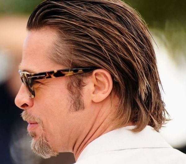 Long Slicked Back Hair for Men 1