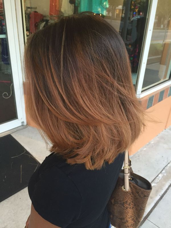 Long To Shoulder Length Bob Hairstyles With Layers 5