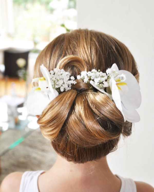 Long prom hairstyles with accessories 1