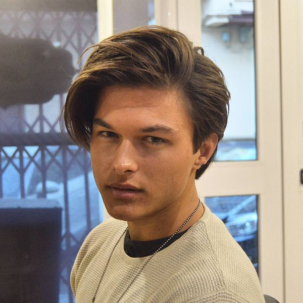 Male Messy Haircuts With Side Part 4