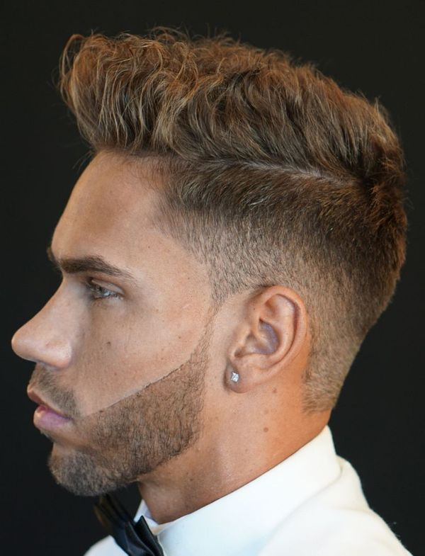 Male Messy Haircuts With Side Part 8