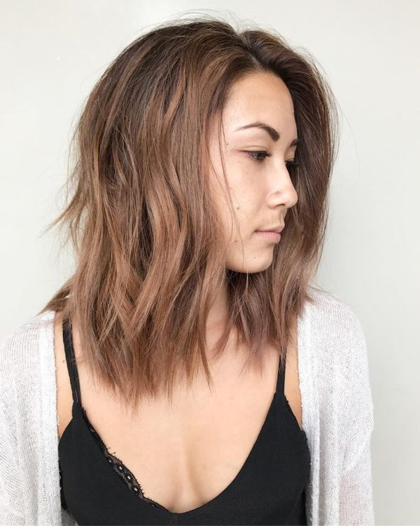 70 Long Layered Bob Hairstyle Ideas (November 2019)