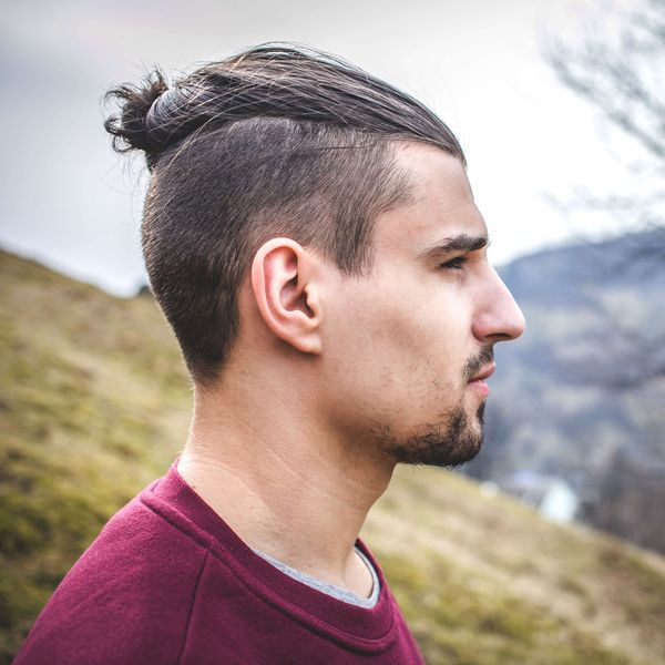 Mens Top Knots On Short Hair 3