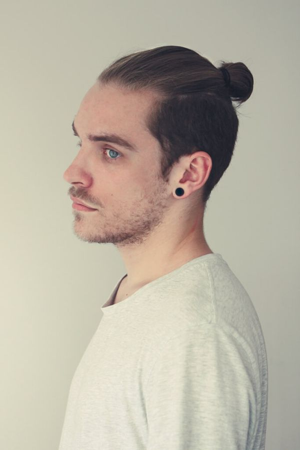 Mens Top Knots On Short Hair 4