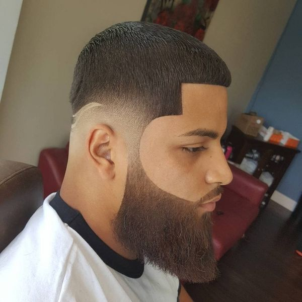 Mens line up taper fade hairstyles 4