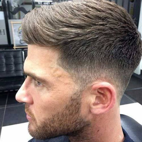 Mens short hairstyles for thick hair 1