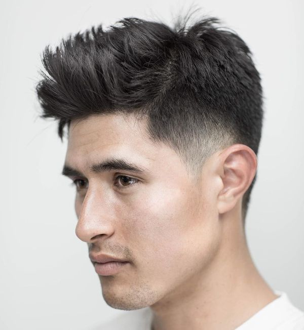 Messy Hairstyle For Men With Straight Hair 7