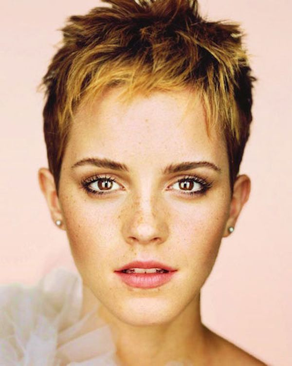 Modern Short Spiky Hairstyles for Girls 4