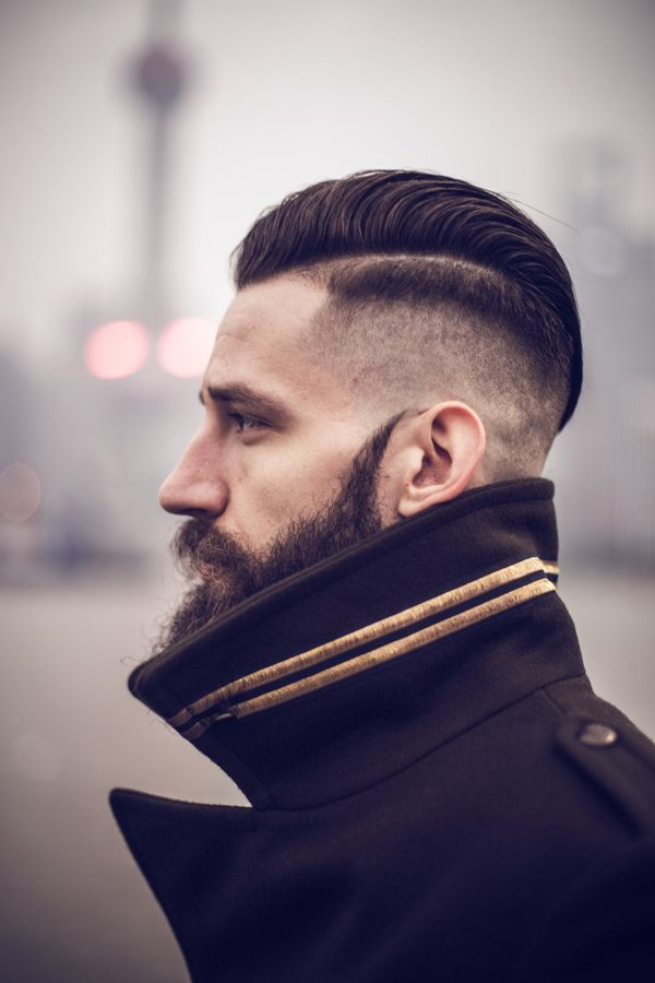 Most popular hard part haircuts 3