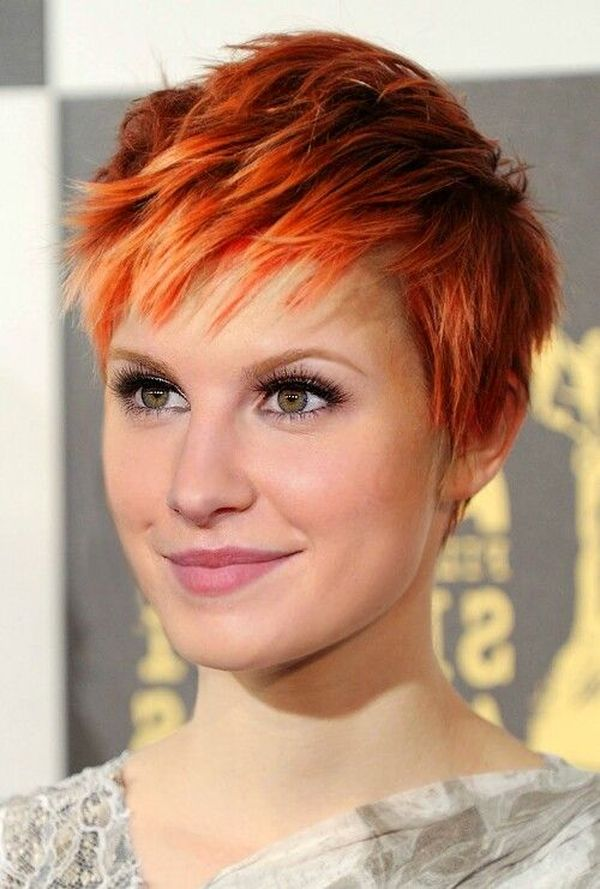 Pics Of Beautiful Short Ginger Hair You Will Love 2