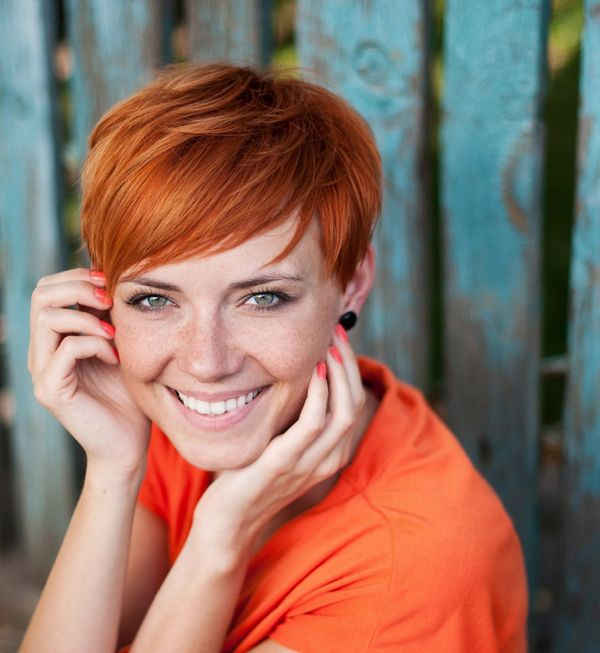 Pics Of Beautiful Short Ginger Hair You Will Love 4