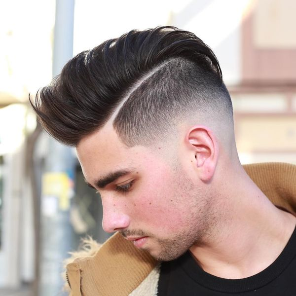 Pompadour Fade Haircut Variations for Guys 1