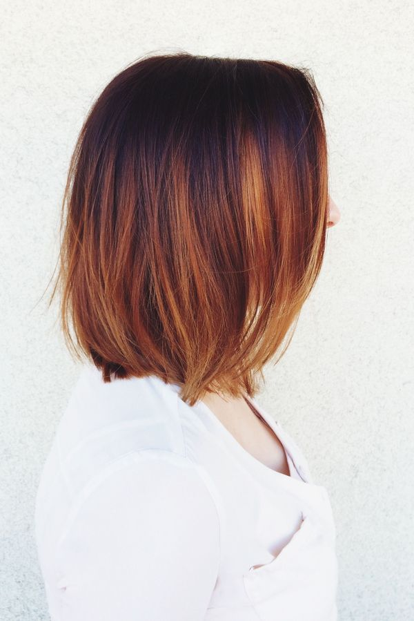 Popular Fall Hair Colors for Short Hair 2