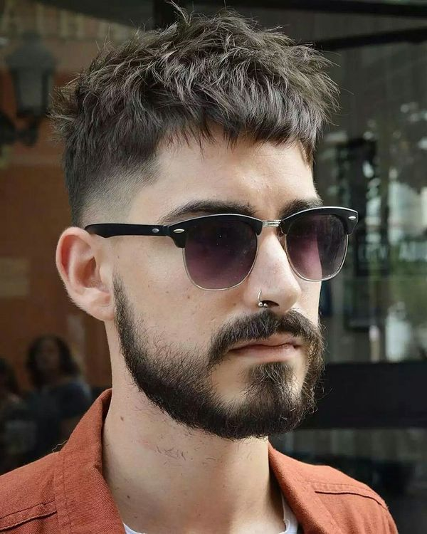 Sexy Short Messy Hairstyles For Men 1