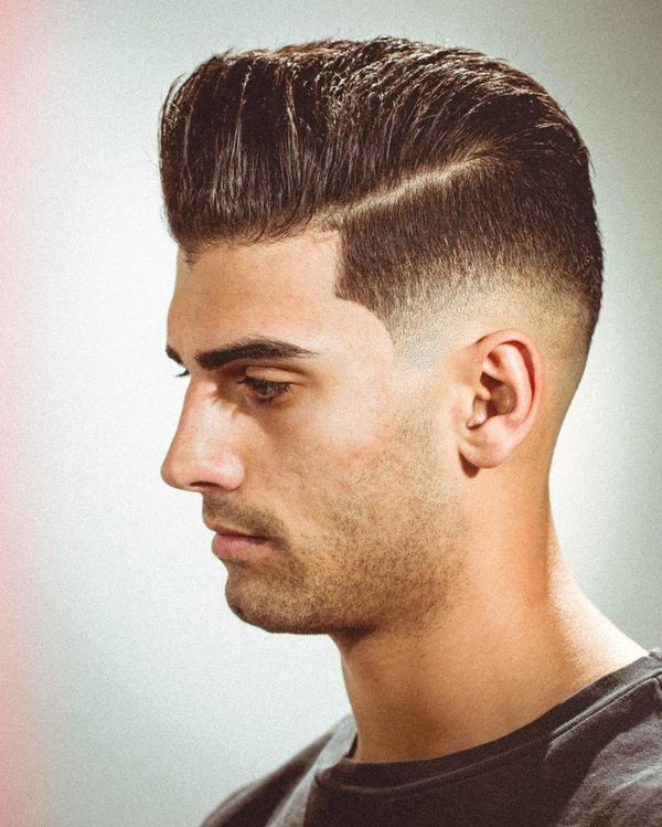 Modern Pompadour Haircut Ideas, Short Pompadour Hairstyles (2019)
