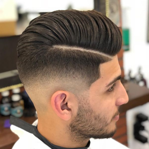Side Part Pompadour to Try 4