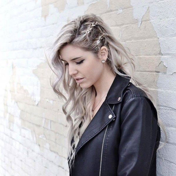 Simple braided hairstyles for long hair 3