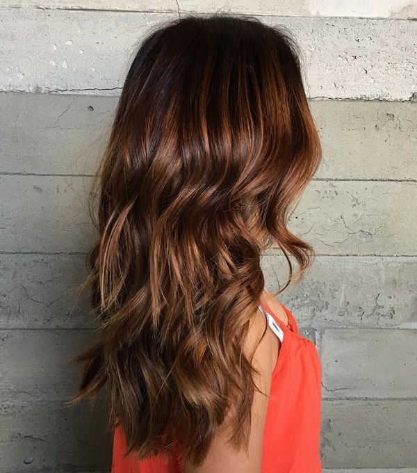 Softly highlighted brown hair 2
