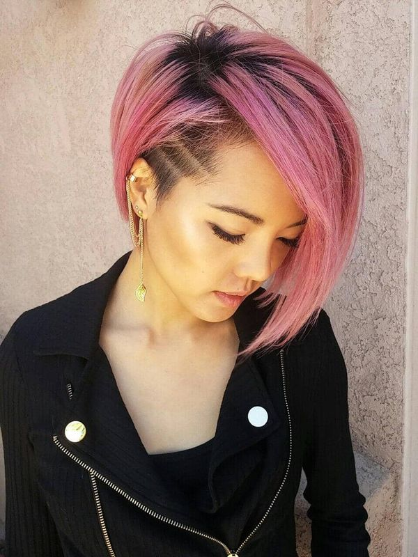 Stylish Short Colorful Hairstyles 1