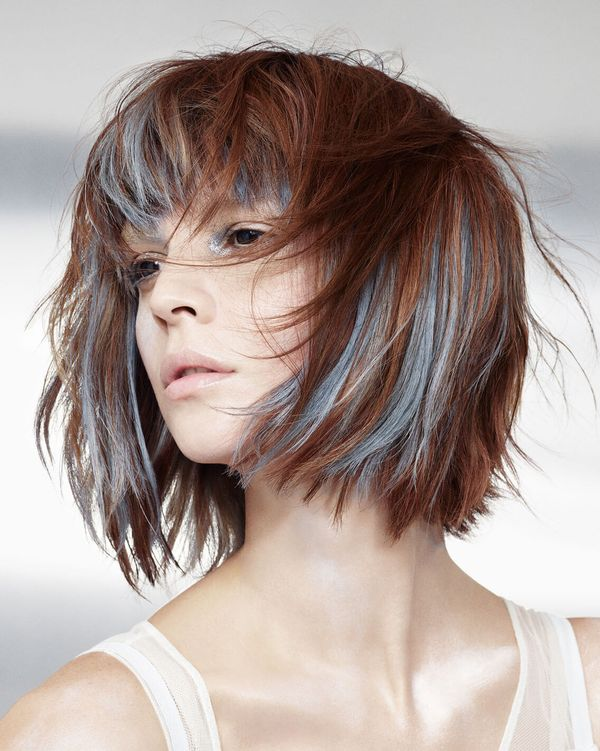 Stylish Short Colorful Hairstyles 3