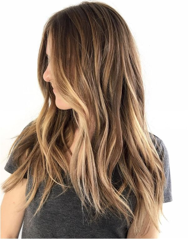 Stylish ideas for brown hair with blonde highlights 2