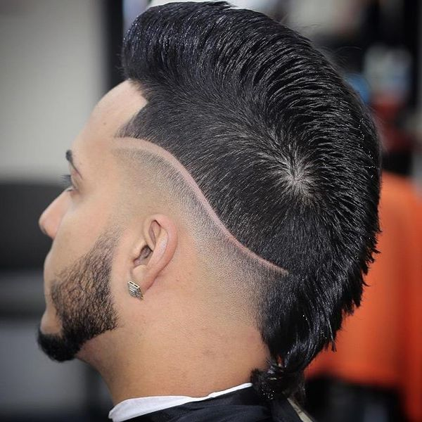Stylish line up hairline cut for guys 1