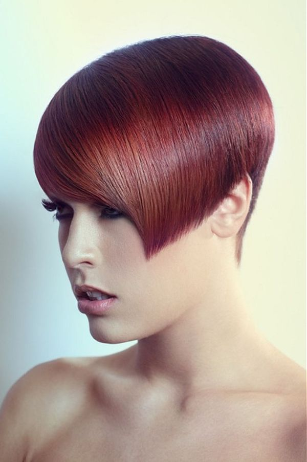 Trendy Hair Dye Styles for Short Hair 4