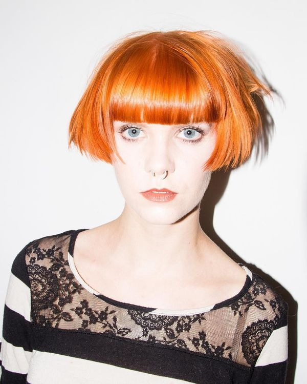 Very Short Hairstyles For Redheads 2