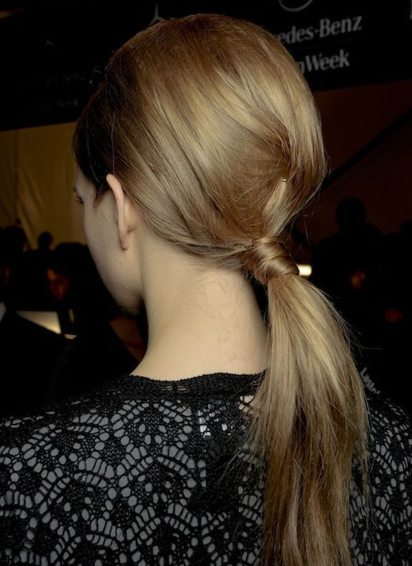Casual hairstyles for naturally straight hair 3