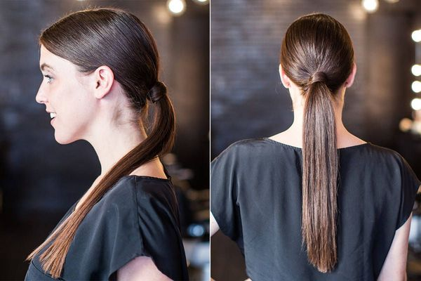 Casual hairstyles for naturally straight hair 6