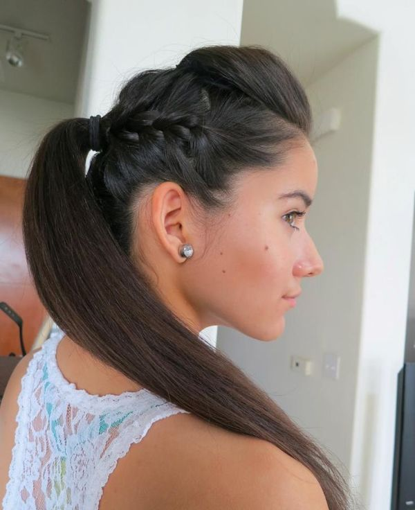 Casual hairstyles for naturally straight hair 8