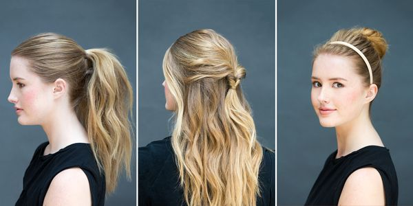 Quick and easy hairstyles for long straight hair 1